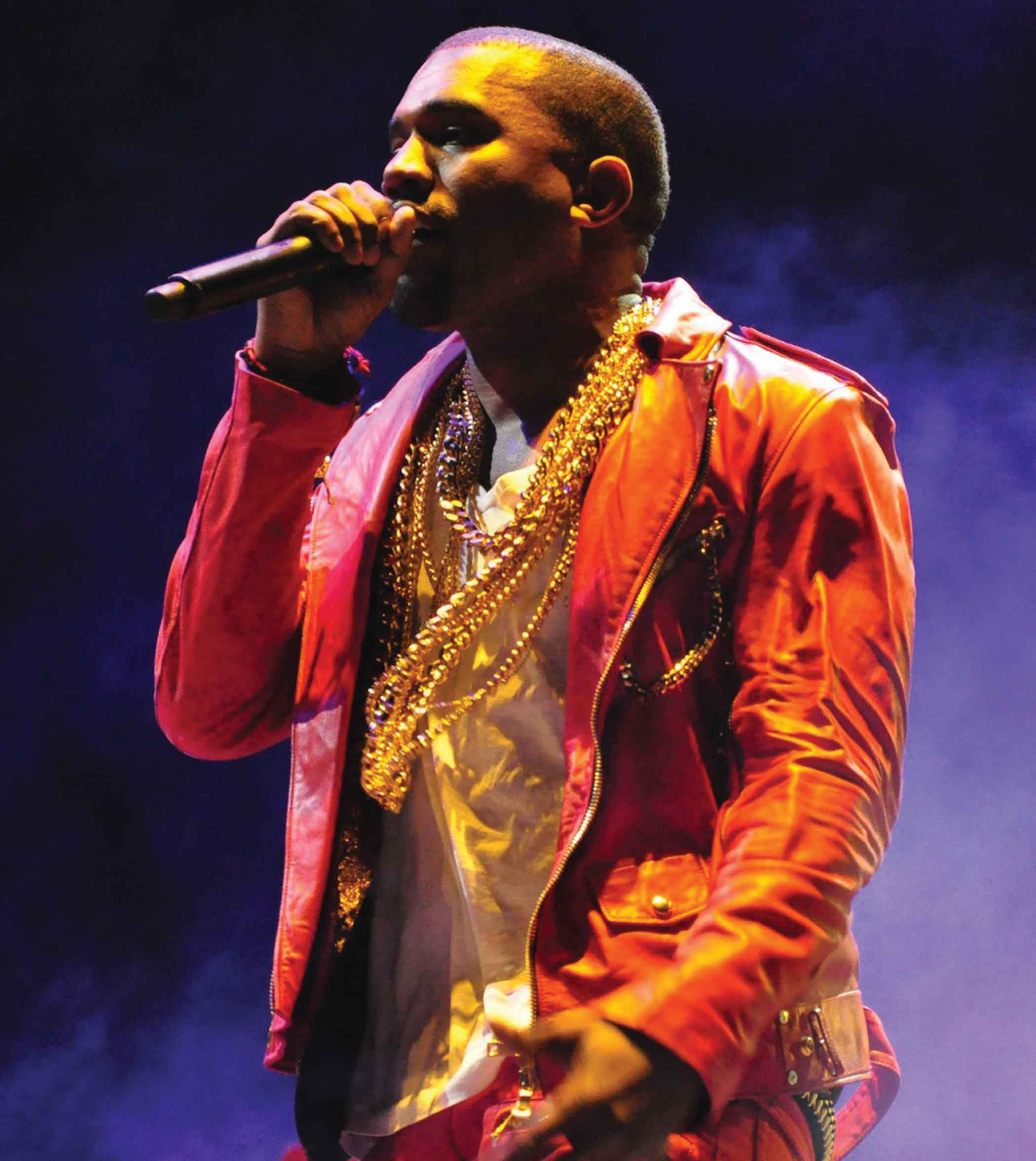 """Kanye West's premired his album """"The Life of Pablo,"""" which will not yet be sold in stores."""