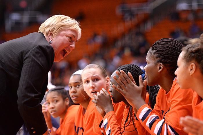 Head coach Keitha Adams coached her team to a 16-0 homestead this season.