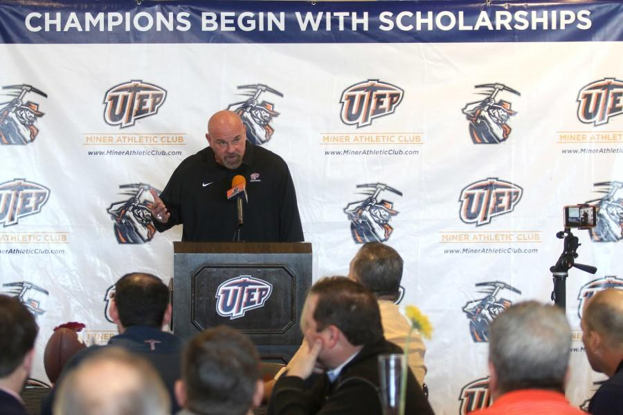 UTEP Football head coach Sean Kugler introduces the 2016 signing class.