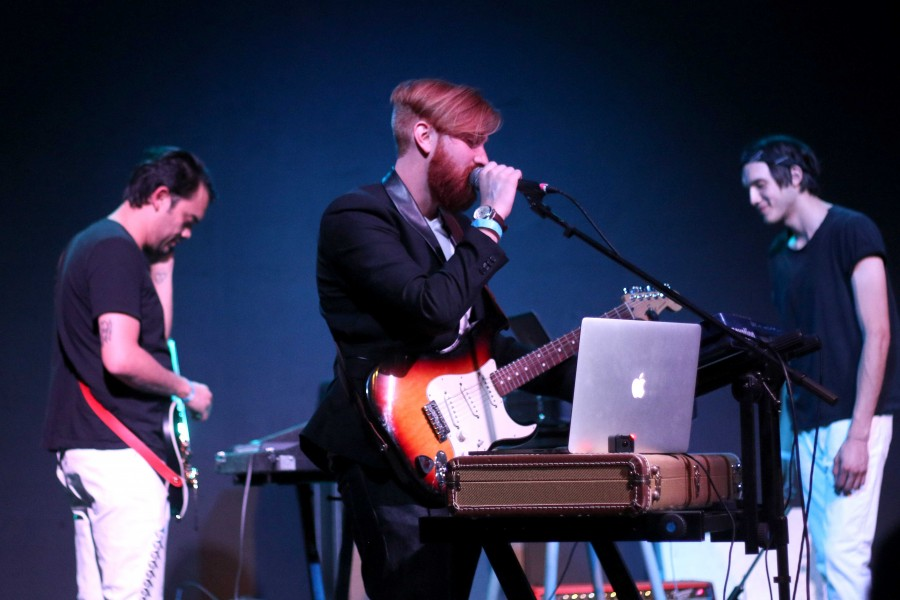 ANiMALSOUL plays at their EP release party at Tricky Falls on Saturday, March 25.
