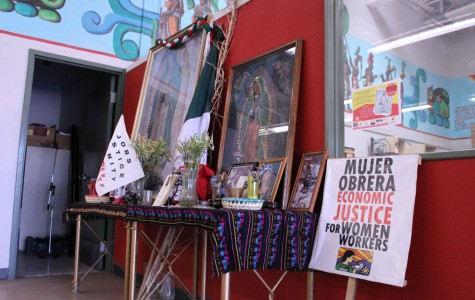 Café Mayapan, located at 2000 Texas Ave is the home of La Mujer Obrera, a non-profit organization run by women.