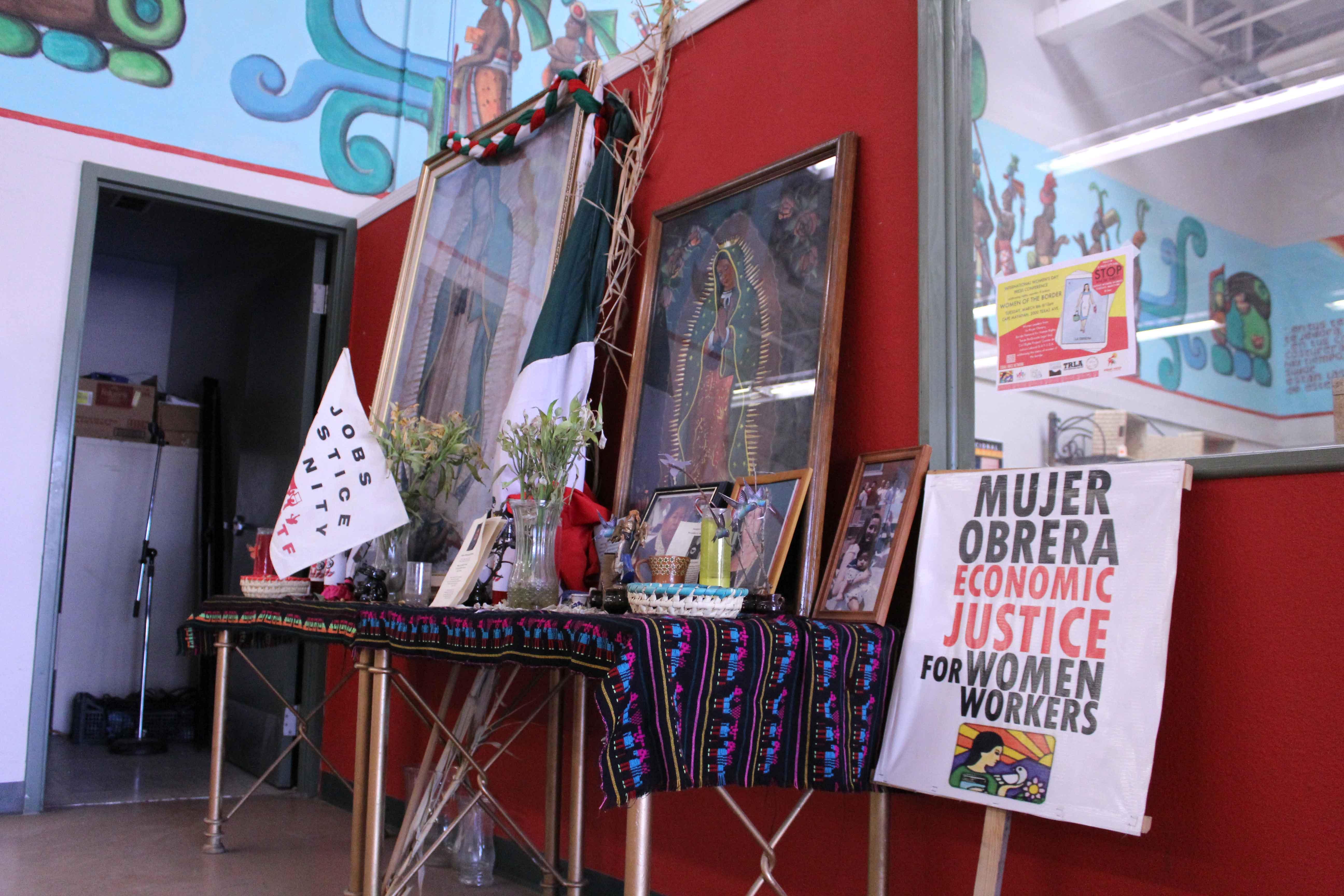Café Mayapan, located at 2000 Texas Ave is the home of La Mujer Obrera, a non-profit organization run by women.