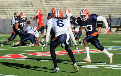Quotes from the first spring football scrimmage