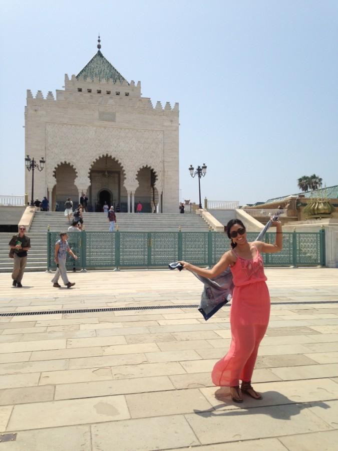 Kim Valle in Rabat, Morocco.