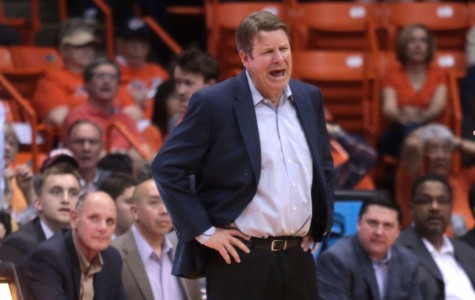 Head coach Tim Floyd and his troops lost two in a row after winning six straight.