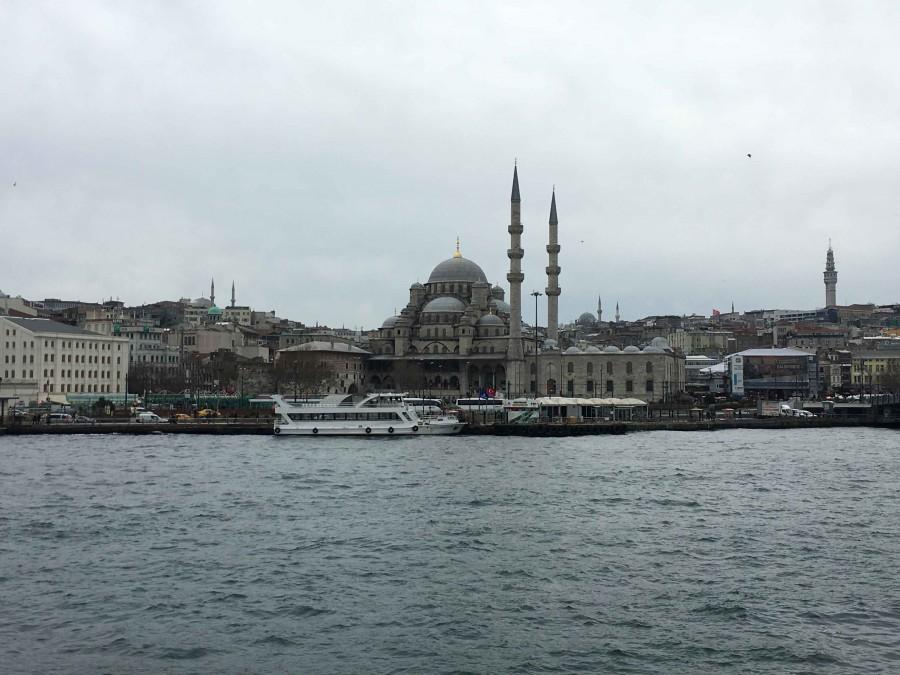A picture of the Hagia Sophia from Valles trip to Istanbul, Turkey.