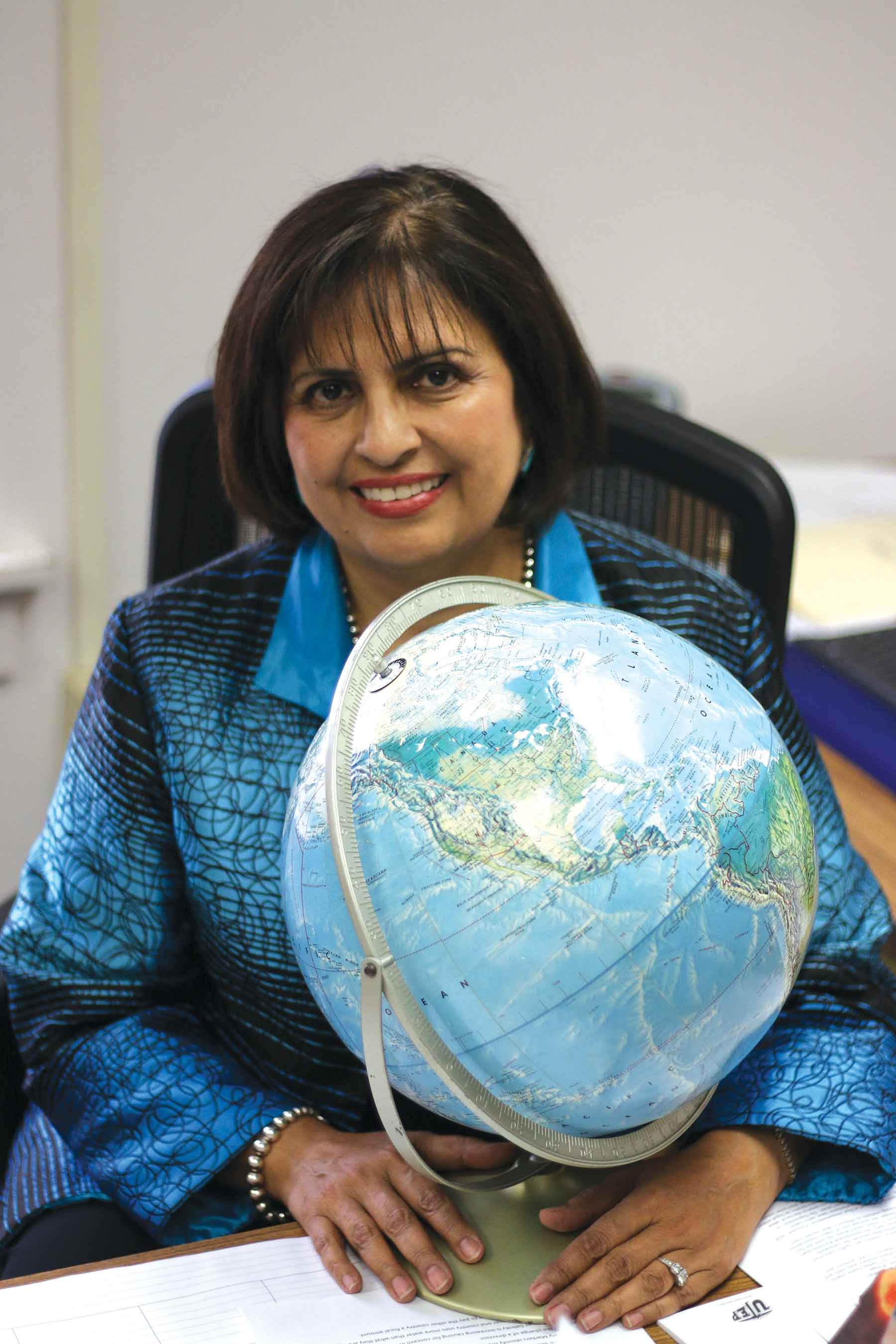 Political science professor Irasema Coronado now teaches at UTEP after serving as executive director of the Commission for the Environmental Cooperation in Quebec, Canada.