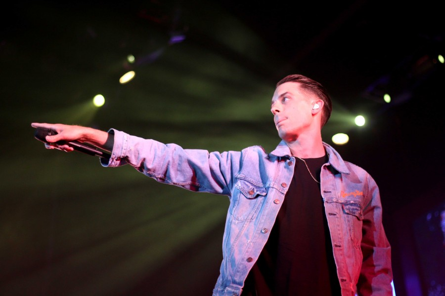 Artist G-Eazy performs at the Don Haskins Center on Sun. April 26.