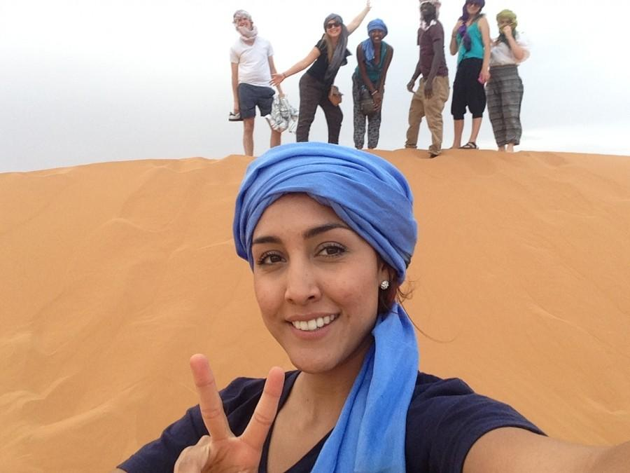 Camel rides, clear skies and friendships.
