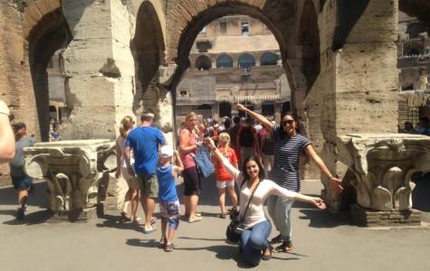 Roaming through romantic ruins