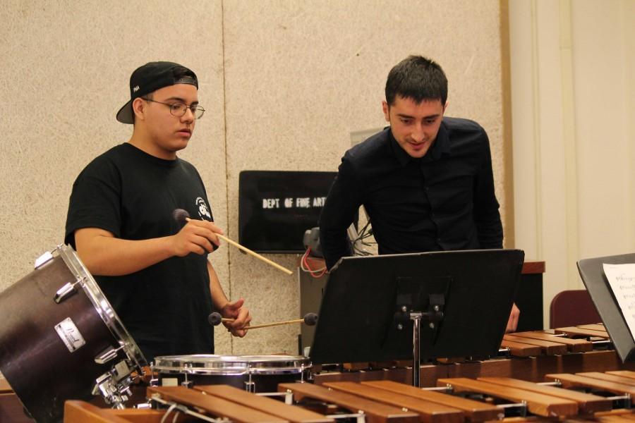 The Institute of Percussive Arts is a program to help high school students interested in percussion arts.