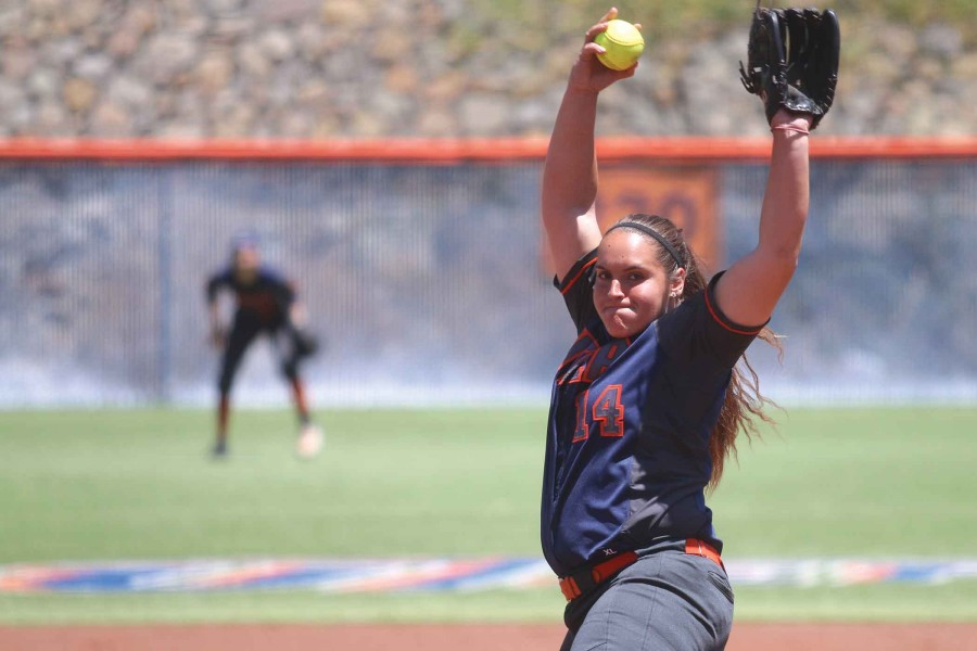 Miners women's softball lost  4-2 against UAB on Sunday, April 24.