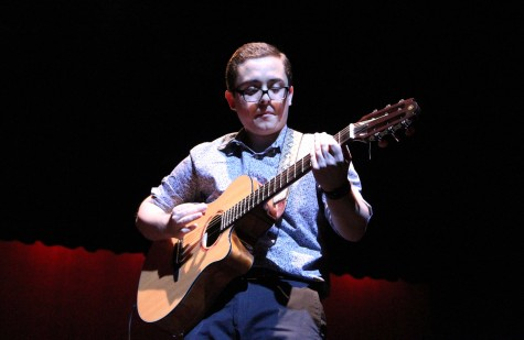 Last years UTEP Picks Talent winner Arturo Gonzalez left the audience in awe with his guitar playing.