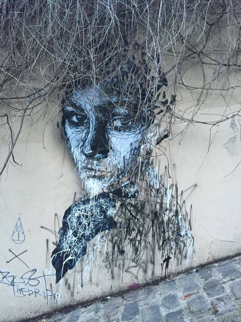 Street art in Paris is on the rise thanks to the inspiration of artists such as Banksy who have made defacing public property into a trend.