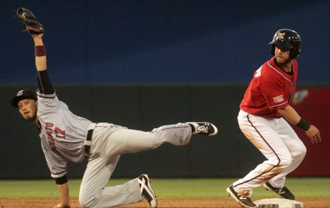 Chihuahuas third baseman Ryan Schimpf was named Pacific Coast League Player of the Week on Monday, June 6.