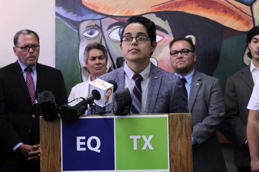 Former UTEP student Adriano Perez speaks about his transition and how Equality Texas is an important support system for the transgender community.