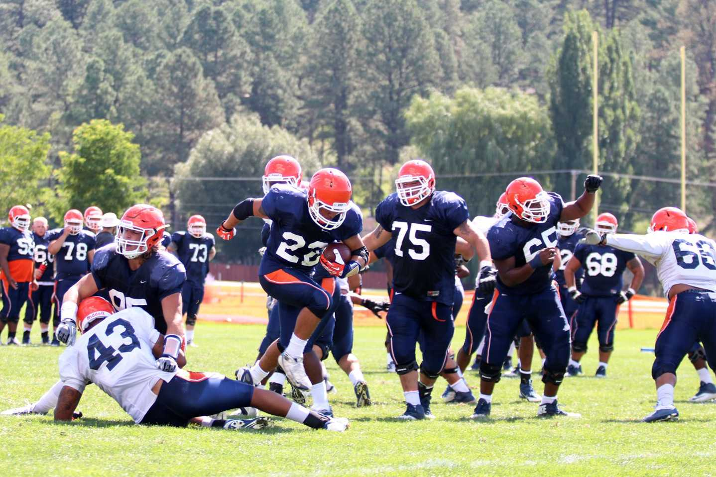 UTEP football team will head to summer training camp in Ruidoso, NM, on Aug. 3.