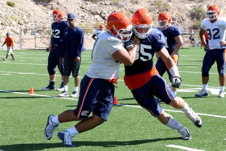 UTEP+football+squad+squad+wrapped+up+their+final+week+of+scrimmage+and+the+team+will+prepare+for+NMSU+on+Sept.+3.