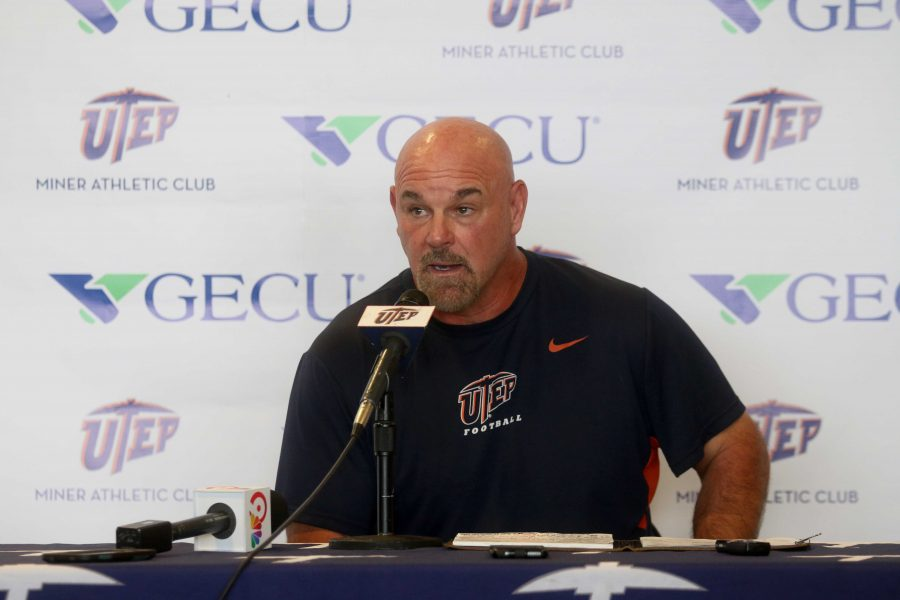 Kugler speaks on upcoming rivalary game against NMSU