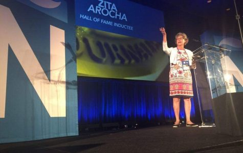 Arocha inducted into NAHJ Hall of Fame
