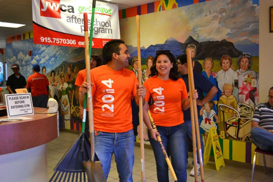 UTEP students completed 1,115,524 hours of volunteer experiences and service learning.