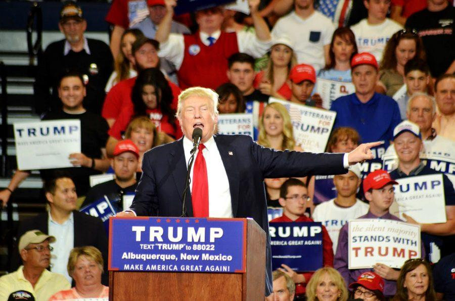Trump+visited+Mexico+last+week+causing+controversy+for+his+past+comments+on+Mexicans.