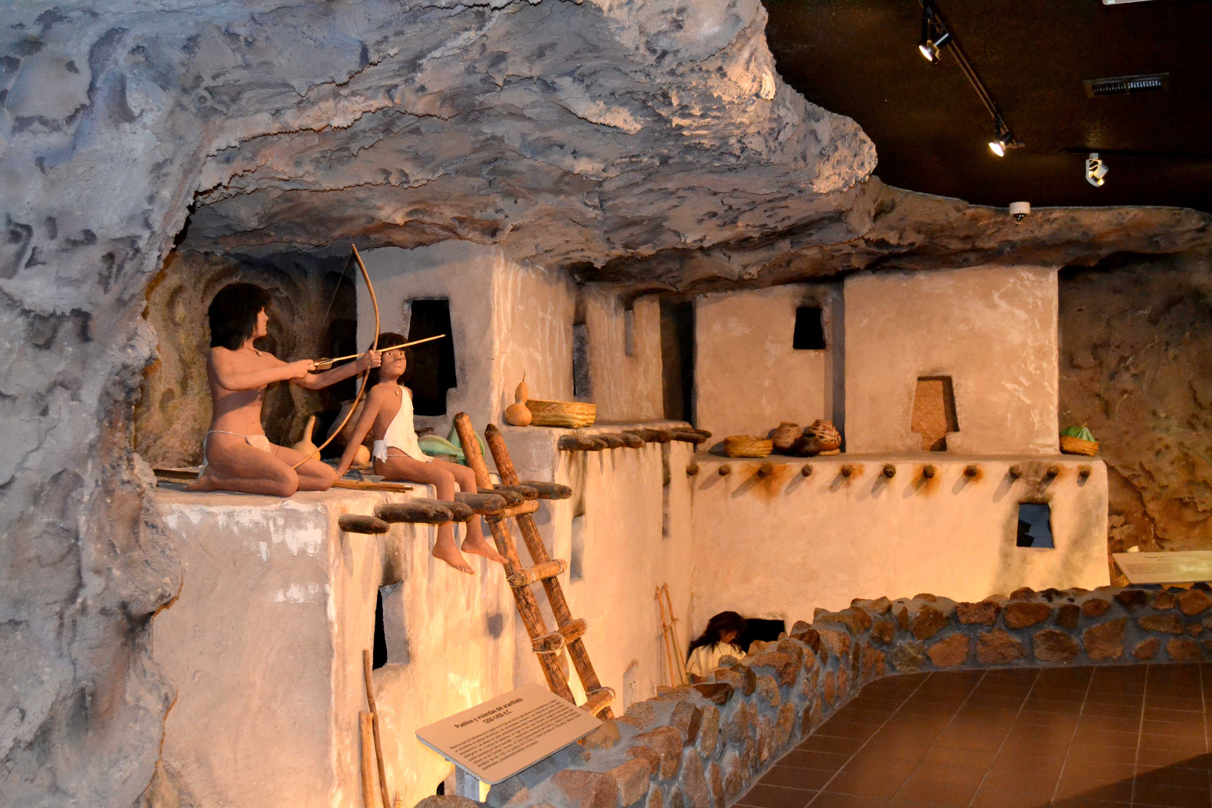The Museum of Archaeology off Transmountain houses artifacts, replicas and authentic instruments from the native cultures of the land we inhabit.