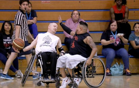Ability Awarness Week features annual wheelchair basketball game