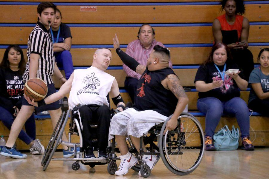 Ability+Awarness+Week+features+annual+wheelchair+basketball+game