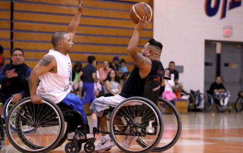 Ability Awareness Week brings wheelchair basketball