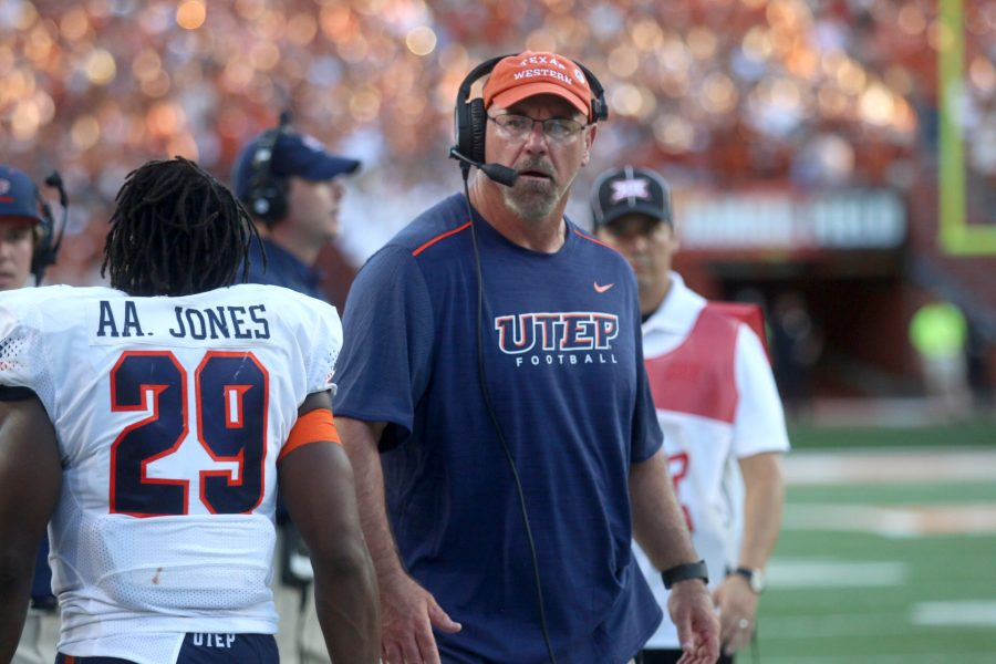 Sean+Kugler%E2%80%99s+time+with+UTEP+is+running+out