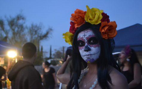 Dia de Muertos celebration at Concordia Cemetery