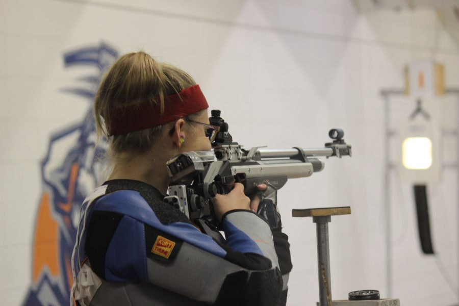 UTEP rifle falls short to Nevada in home opener