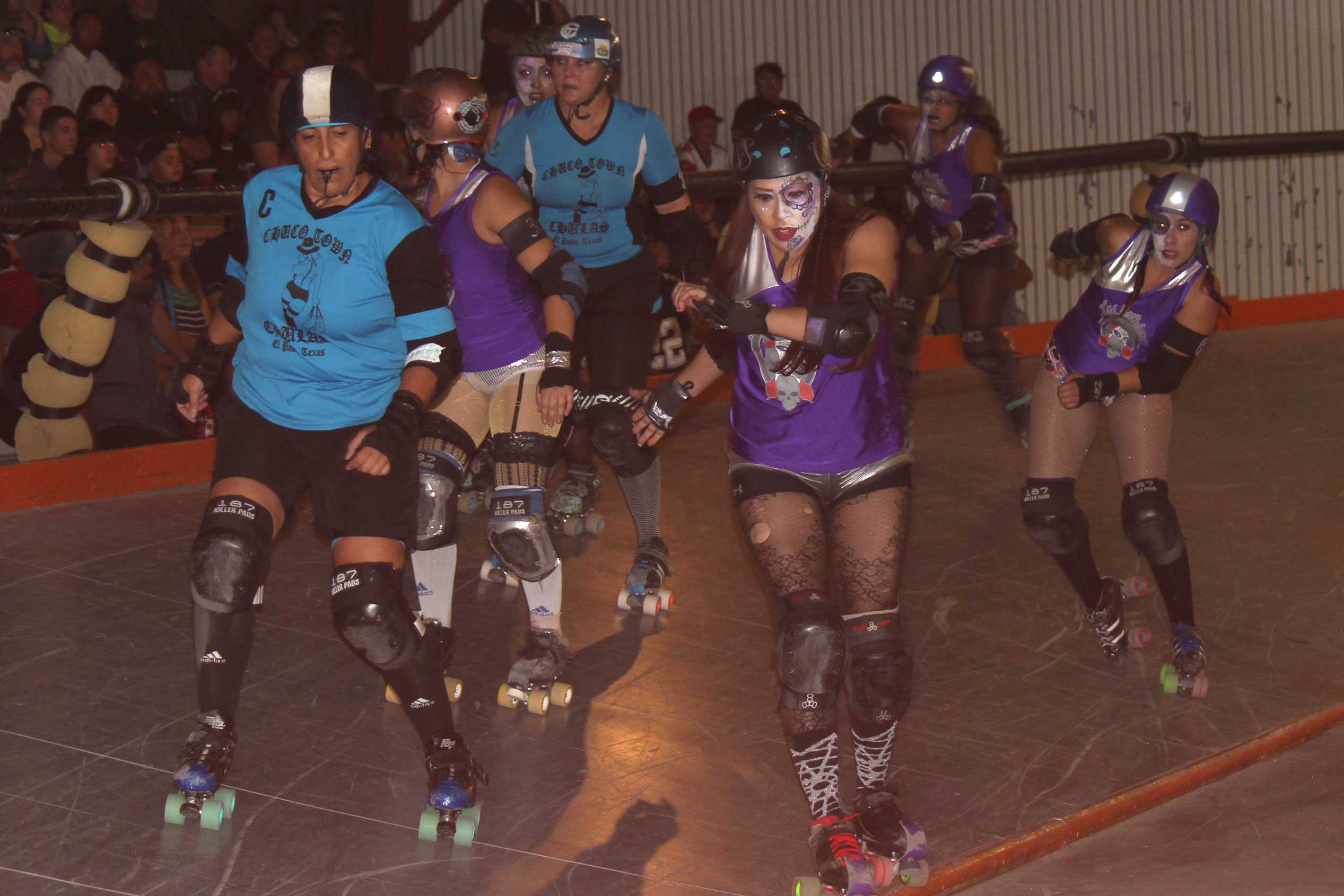 The El Paso Roller Derby title crowned a new champion as Las Catrinas won the championship on Sunday, Oct. 23.