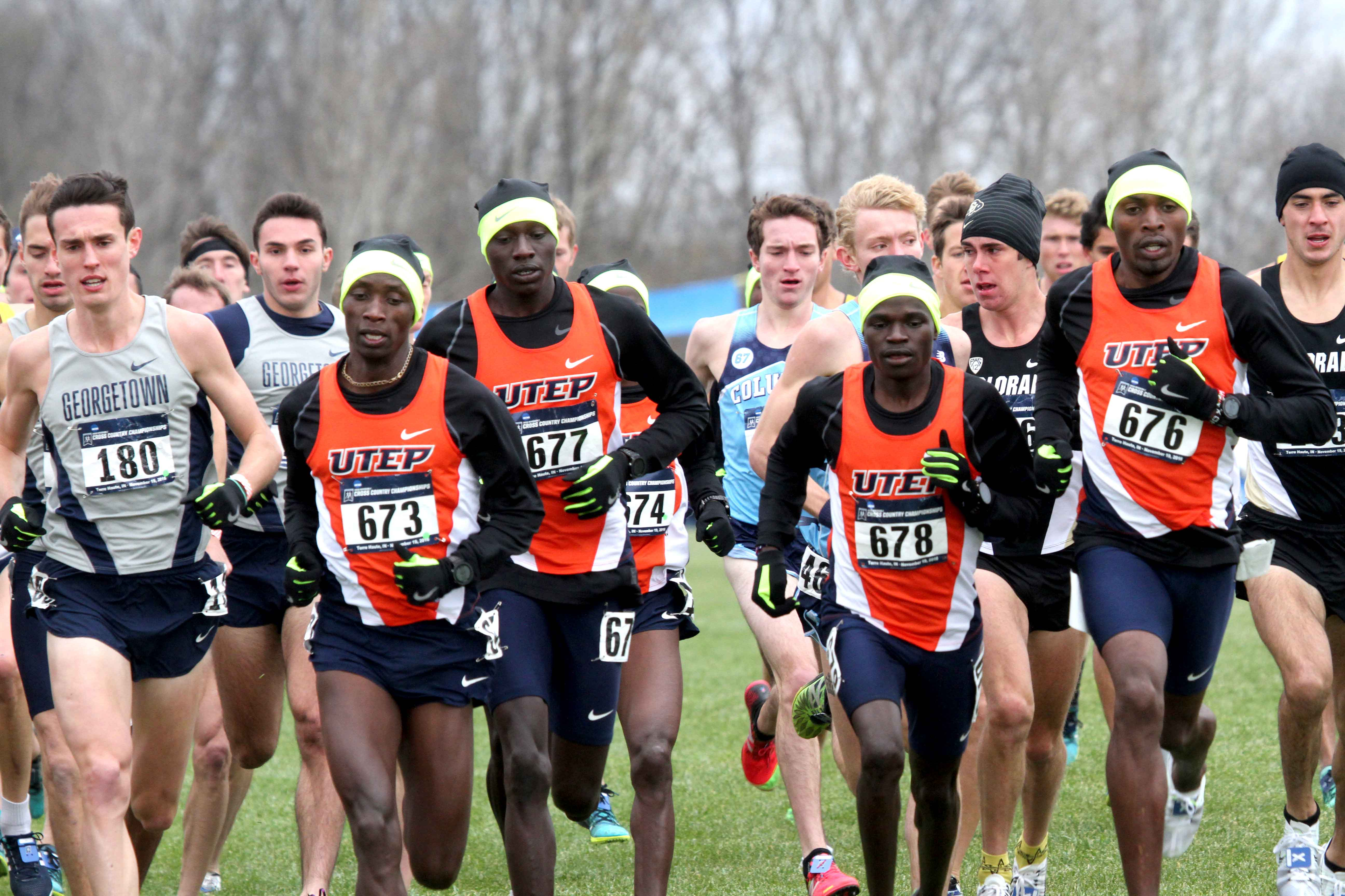 Sophomore cross country runner Antony Kosgei (#678) was named to the C-USA Honor Roll for his excellence in the classroom.