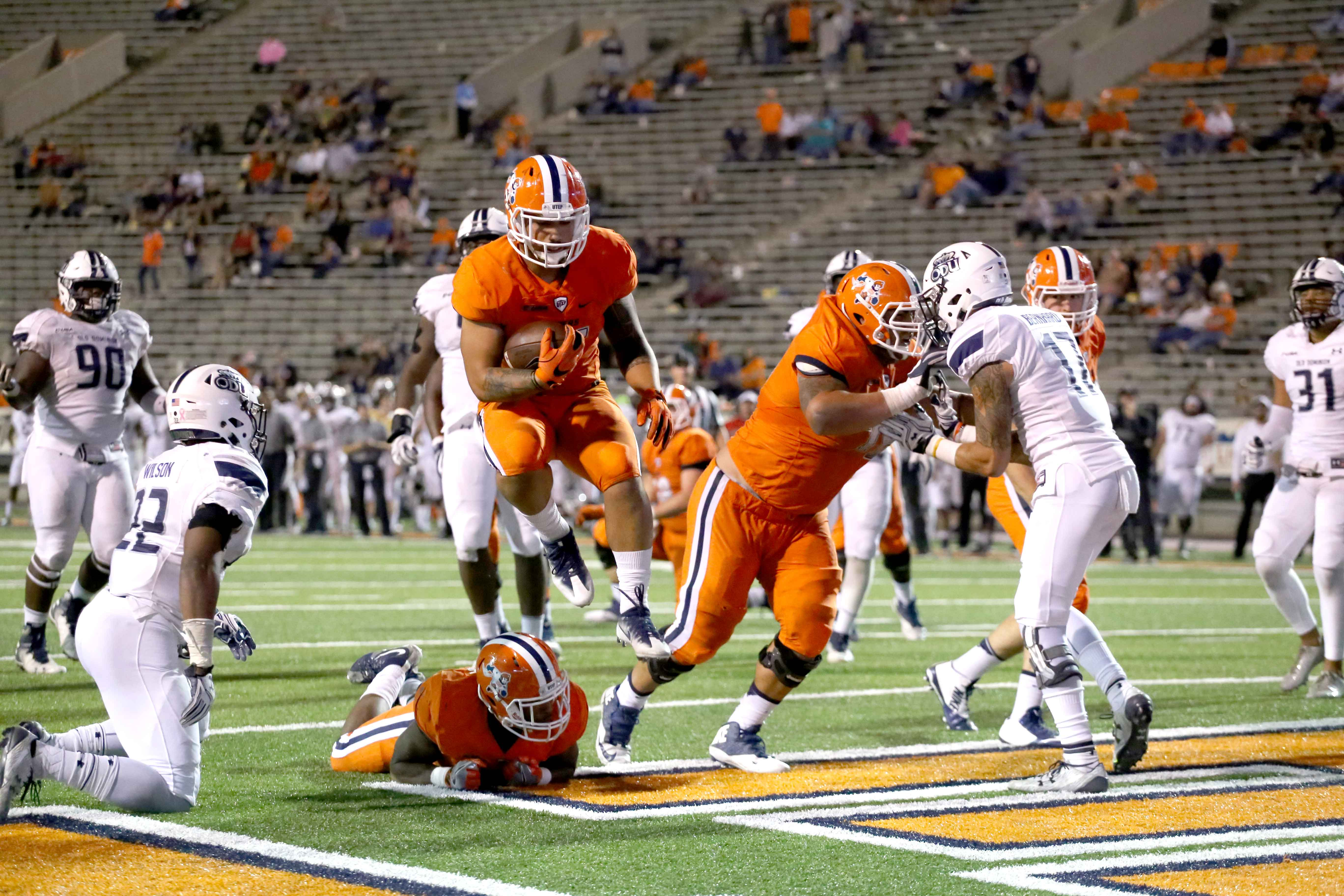 The Miners football team has to win their remaining four games for any hope of making a bowl game.