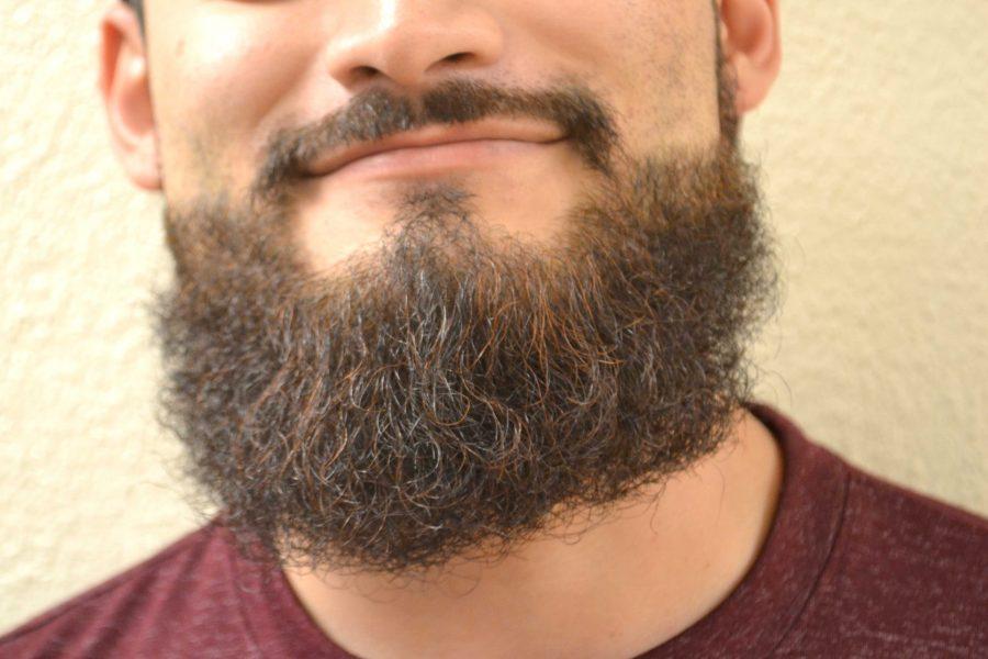 Junior criminal justice major Alonso Reta hardly ever shaves his beard, not just in November.