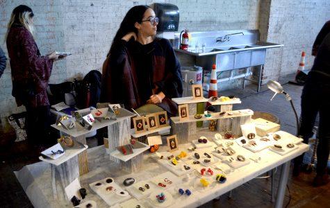Las Artistas juried art show exhibits handmade crafts