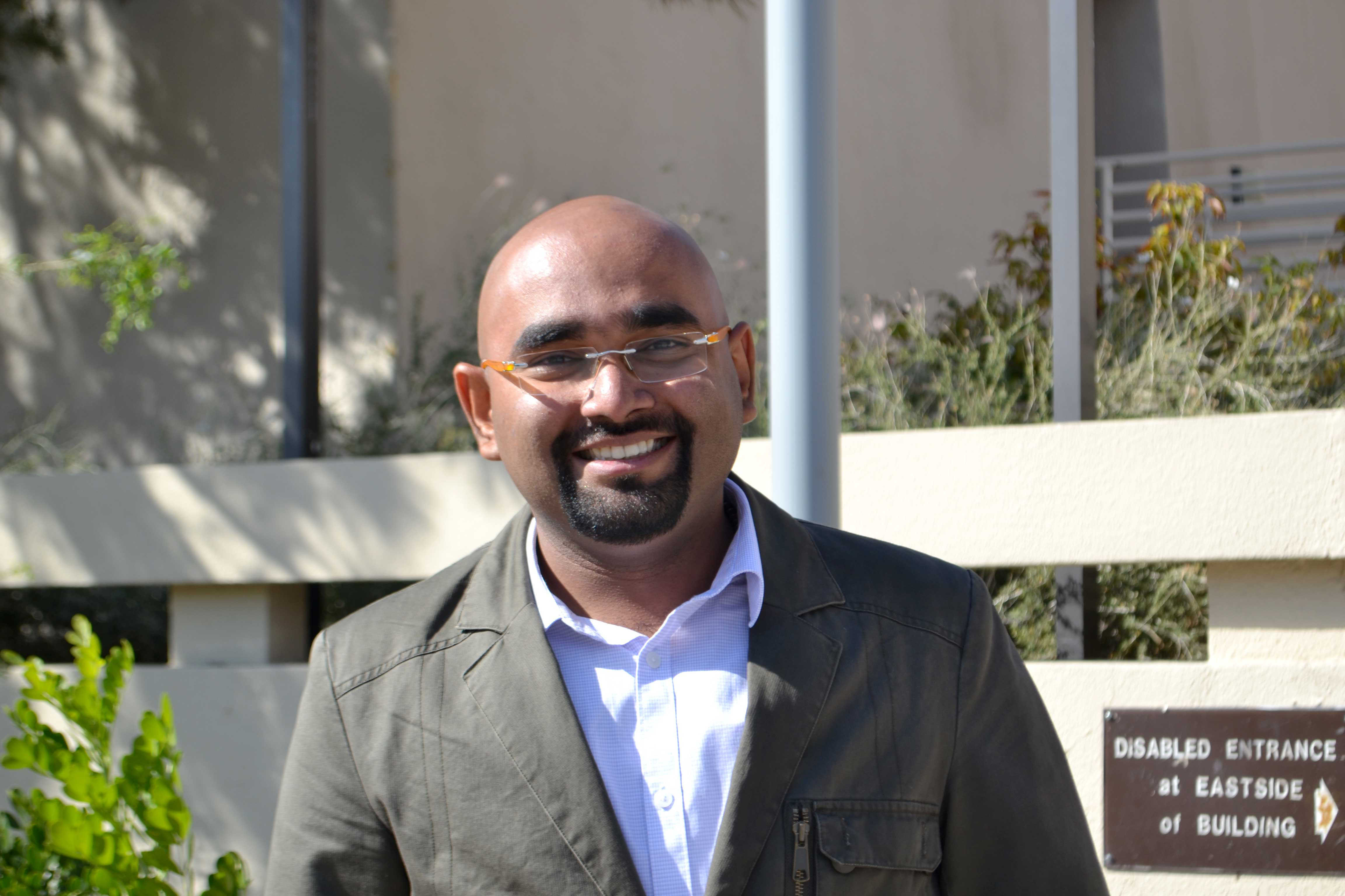 Graduate student in computer science, Nakul Karle, was born and raised in Mumbai, India.