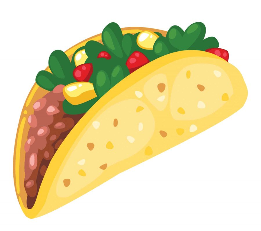 student receives a full paid semester thanks to tacos the prospector rh theprospectordaily com eating mexican food clipart Mexican Food Restaurant Clip Art