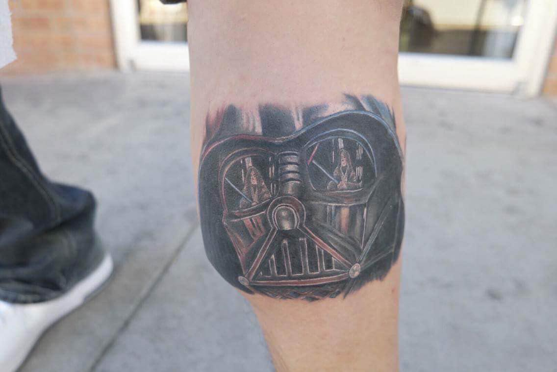 Darth+Vader+by+tattoo+artist+Mitchell+Dean.