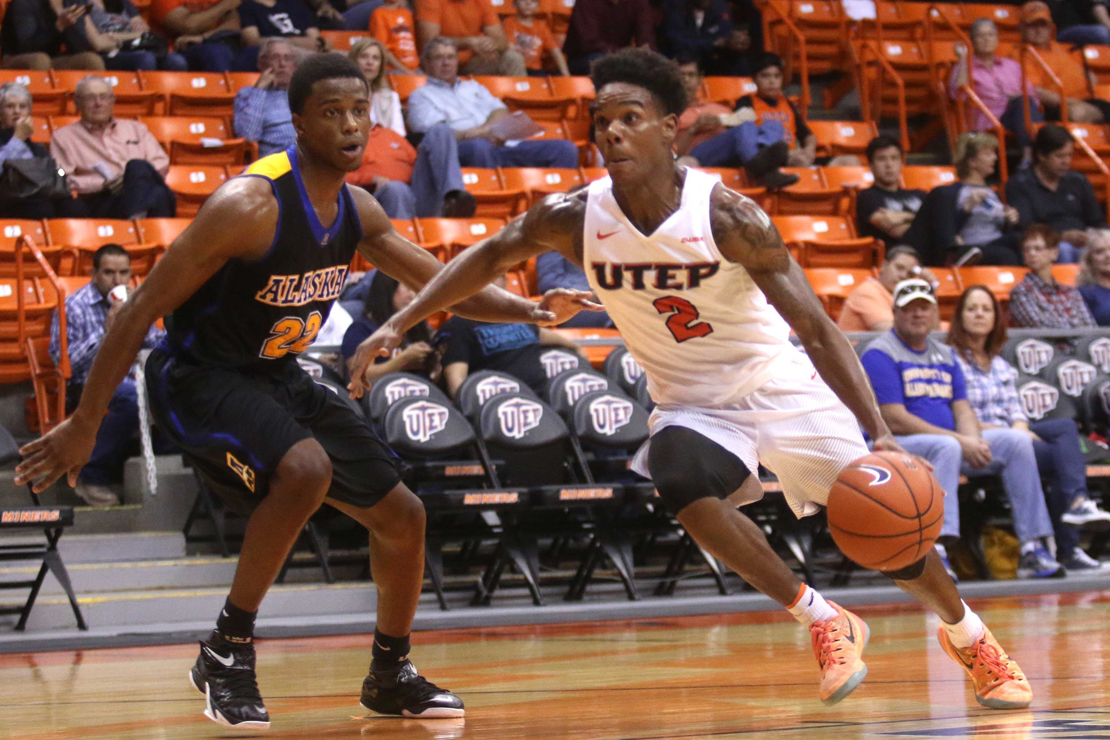UTEP defeats the UAF nanooks, 87-85, following overtime.