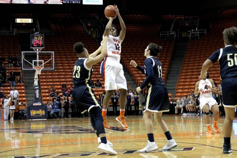 UTEP+women%E2%80%99s+basketball+team+lost+two+games+during+their+opening+weekend+debut+to+Northern+Arizona+and+Texas+Southern%2C+respectively.