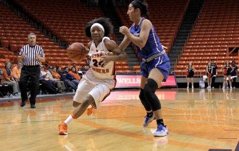 The women's basketball squad hope to find success through their season opener against Northern Arizona.