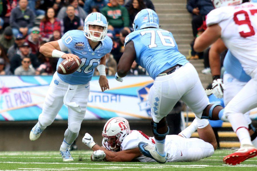 North Carolina falls to Stanford, 25-23 in the Sun Bowl.