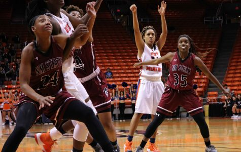Streaky shooting dooms Miners against rival Aggies