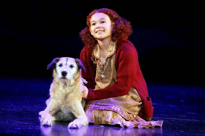 """""""Annie"""" came to the Plaza Theatre Jan. 15, in downtown El Paso."""