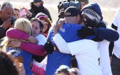 Approximately 400 families were reunited at the El Paso / Juárez border Sat. Jan. 28.