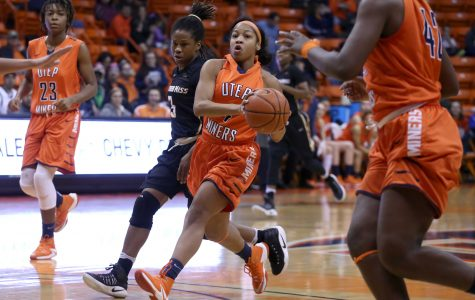 Miners lose to hot shooting Golden Eagles