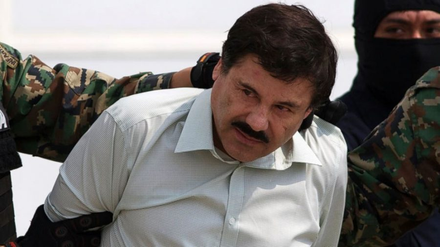 Mexican drug lord Joaquin El Chapo extradited to the United States.